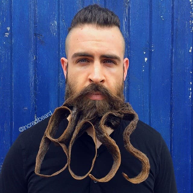 weird beard styles 1