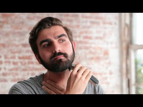 how to trim your beard and mustache 1