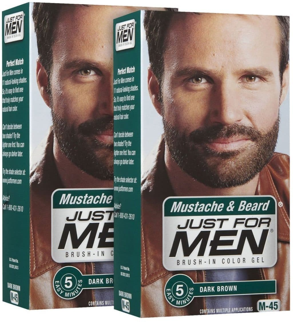 just for men beard and mustache instructions 1