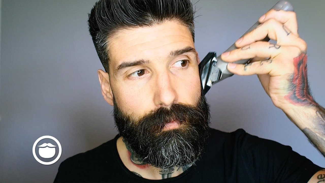 how to trim beard line photo - 1
