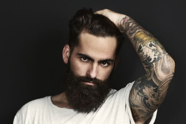 mustache and beard grooming photo - 1